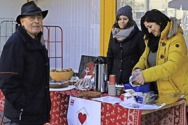 SPD sammelt 250 Euro für die Wärmestube