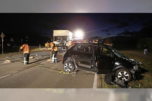 Tödlicher Verkehrsunfall in Niederschopfheim