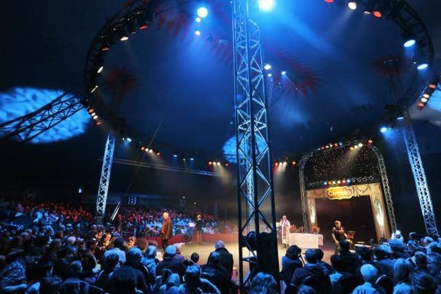Ein Gottesdienst für Zirkusfans