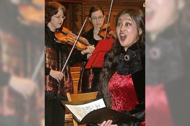 Weihnachtszauber mit Sopran und Trompete