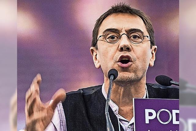 Interview mit Podemos-Mitbegründer Juan Carlos Monedero: