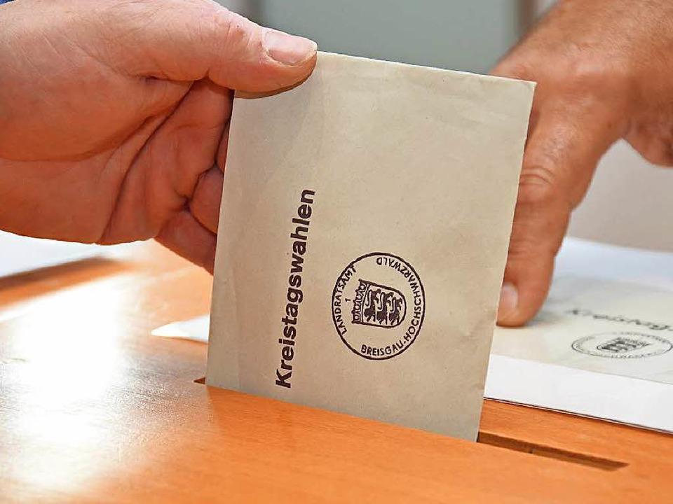 Für Kreistagswahlen gelten besondere V...eises, betonen die Verwaltungsrichter.  | Foto: Tanja Bury