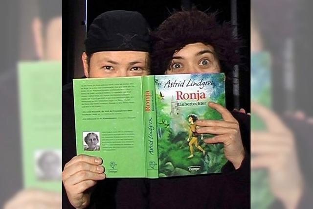 Theater Fiesemadände mit Ronja Räubertochter