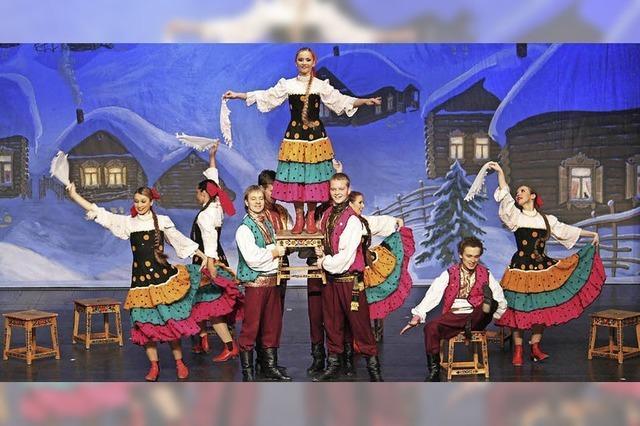 Russische Weihnachtsrevue