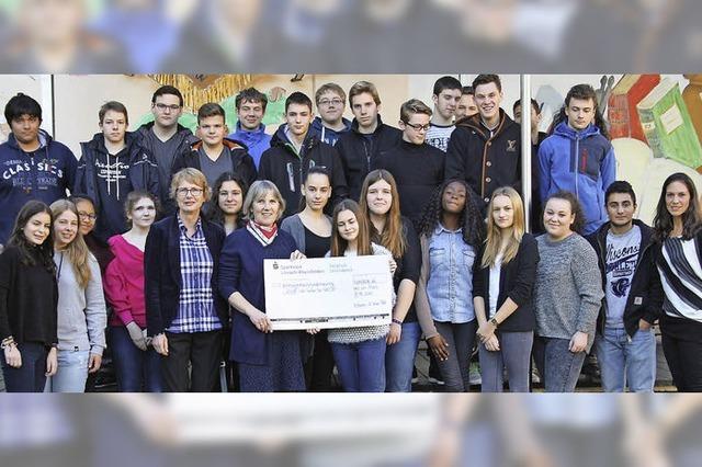 Realschüler erlaufen 8690 Euro für Unicef