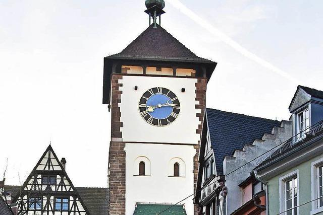 Freiburger Schwabentor erstrahlt in neuem Glanz