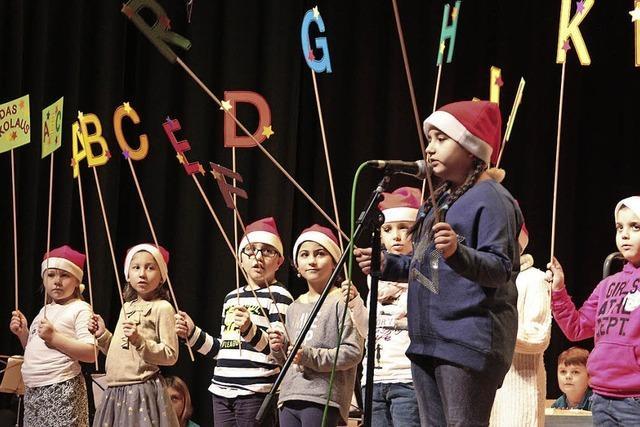 Weihnachtssingen der Talschule Wehr stimmt auf Festtage ein