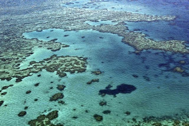 Kohlehafen in der Nähe des Great Barrier Reef