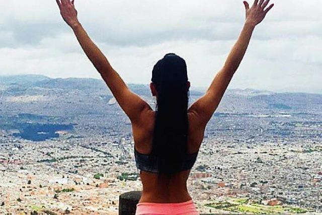 Warum Models in Bogota für die Fitness pilgern gehen