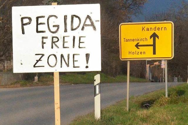 Pegida Dreiländereck will im Januar wieder nach Kandern
