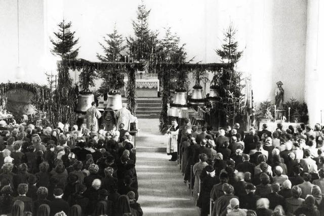 Glocken kehren in Kirchturm zurück