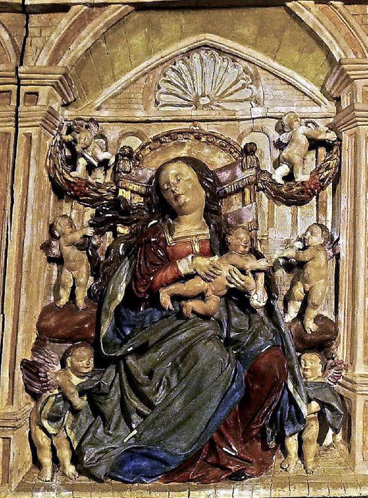 Maria und das Jesuskind    Foto: Hermann Jacob