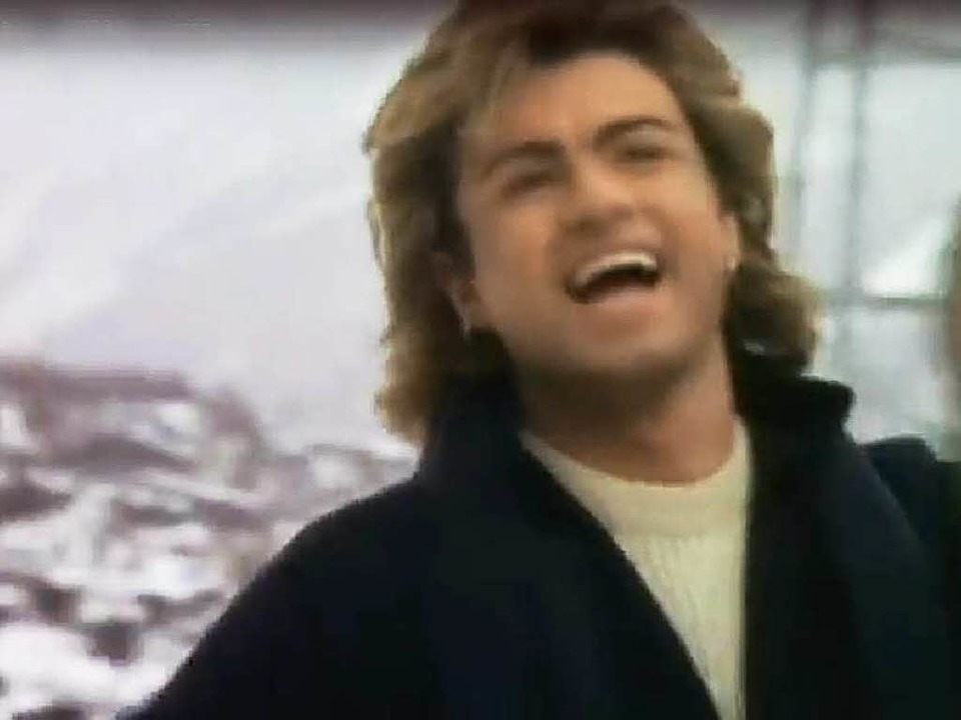 "George Michael im Video zu ""Last Christmas""  | Foto: !Verleih"