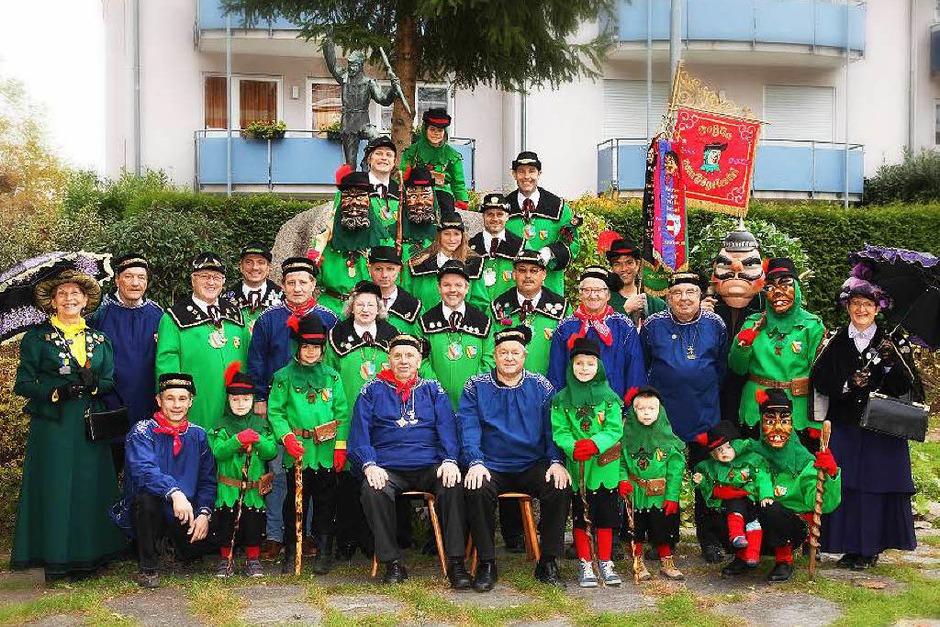 Januar: Die Jubiläumszunft Johlia vom Vöglestei aus Gutach feiert am 10. und 11. Januar ihr 90-jähriges Bestehen mit Festumzügen und Narrendorf. (Foto: Verein)