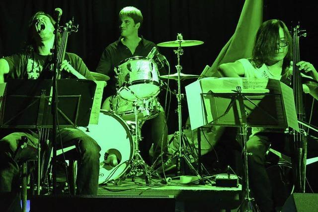 Instrumentaler Hardrock mit Ensemble des Kammerorchesters Basel
