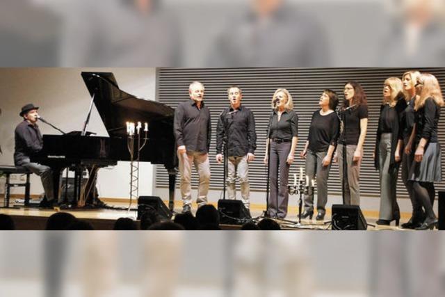 Pianist Hutch Hensle und seine Gäste begeistern das Publikum
