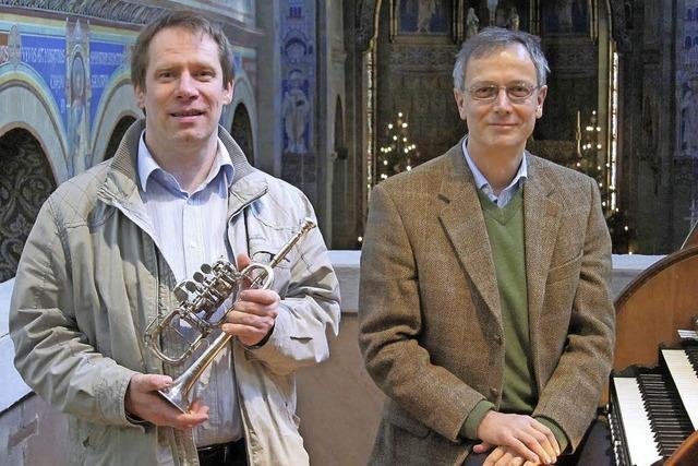 Trompete und Orgel in der Stadtkirche