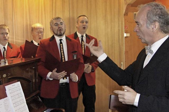 Dirigent Michael Hartenstein verabschiedet sich aus Oberprechtal
