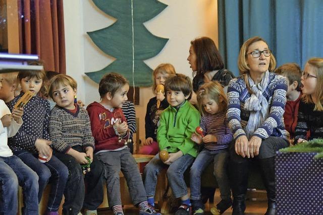 Weihnachtsliedersingen in zwei Sprachen