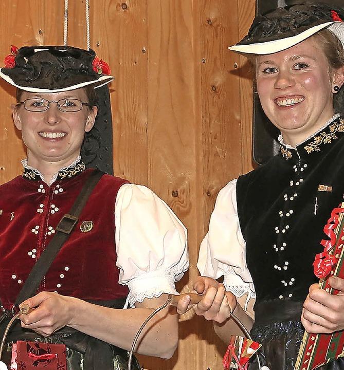 Stefanie Rohrer und Hanna Löffler  | Foto: Heinrich Fehrenbach