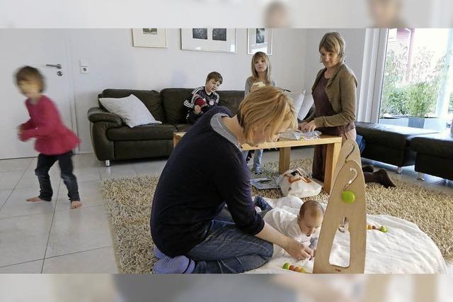 Stützen im Alltag mit Kleinkindern