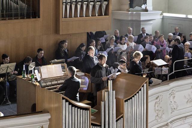 Kirchenchor Kollnau singt Kempter-Messe