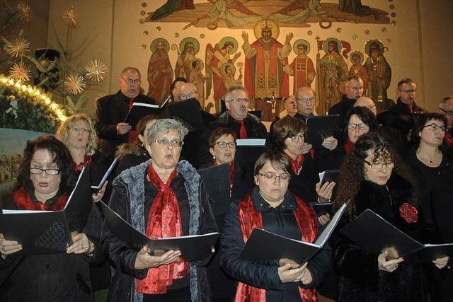 Die gute Tat der Chorgemeinschaft