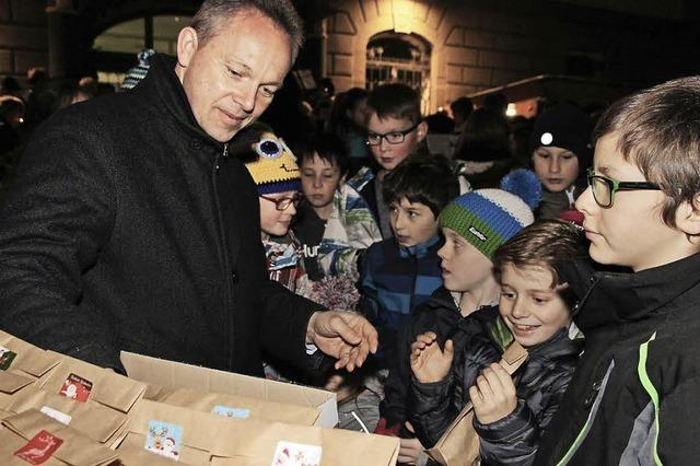 Dank an die Bürger für Flüchtlingsengagement