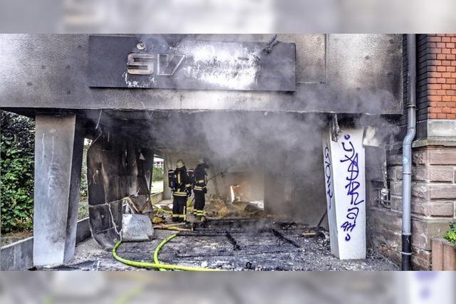 Kripo ermittelt wegen Brandstiftung