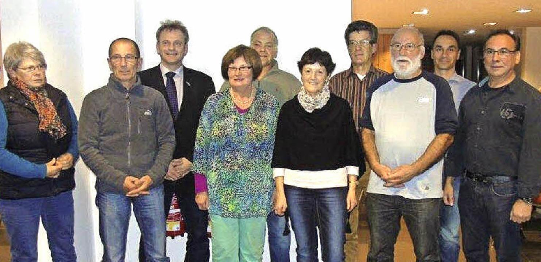 Vorstand des Museumsvereins Pfaffenweiler   | Foto: Franz Hilger