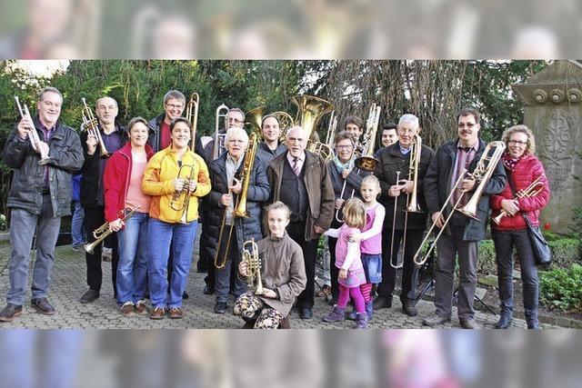 Zum 38. Mal: Posaunen auf dem Bergfriedhof
