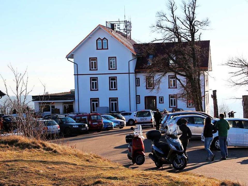 Einen wahrhaften Besucheransturm erleb...ndere als normal für diese Jahreszeit.  | Foto: Rolf-Dieter Kanmacher