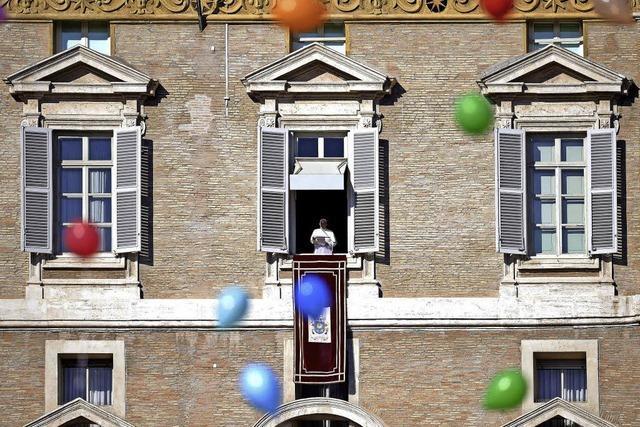 Papst erinnert an Schicksal von Flüchtlingen