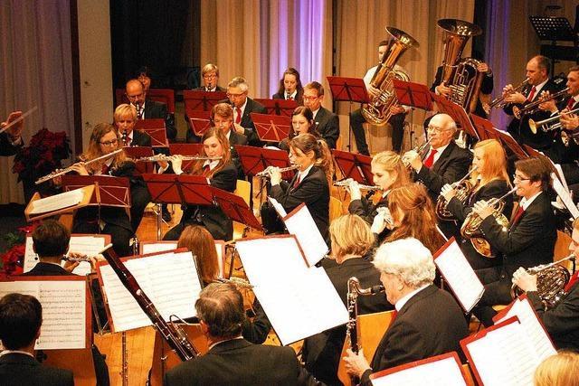 Emmendinger Stadtmusik begeistert beim Stephanskonzert