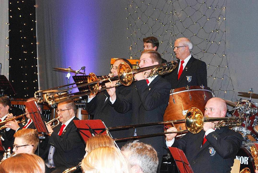 Duett für Posaunen &#8211; in Verdis Original wurde das gesungen<ppp></ppp>  | Foto: Sylvia-Karina  Jahn