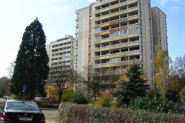 Im Hochhausviertel von Umkirch entsteht ein Neubau