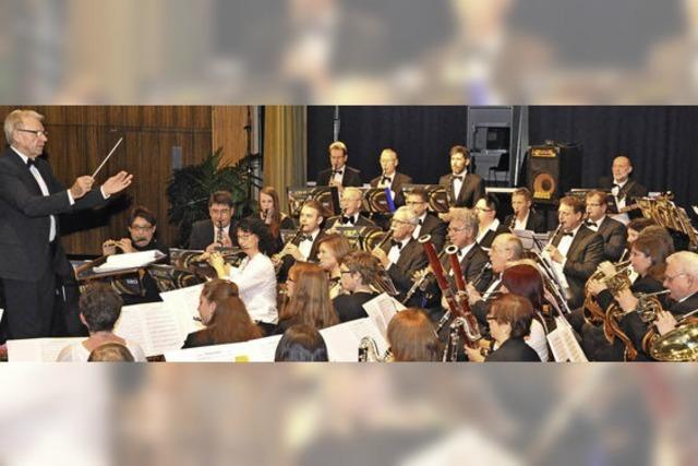 Schaffhauser Blasorchester und Gäste in Höchenschwand