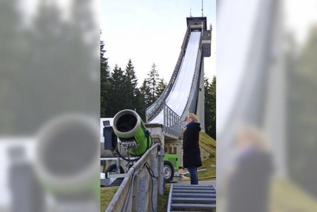 Kein Schnee: Weltcup in Schonach droht die Absage