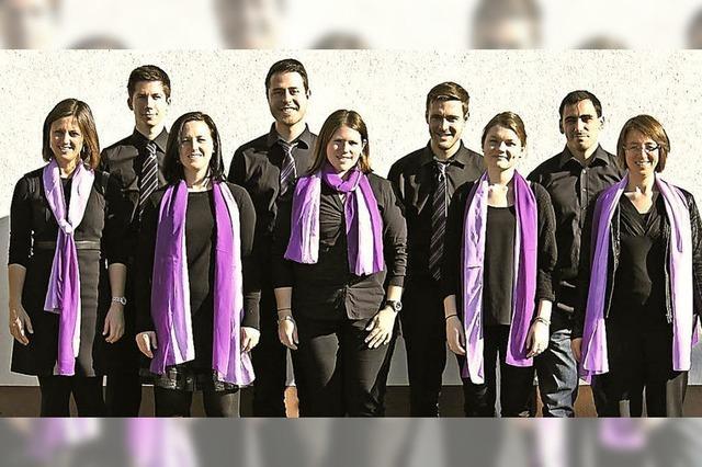 Gesangsensemble Voix Célestes gibt Konzert in Eiken/Schweiz