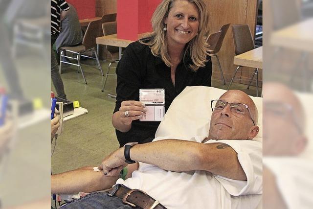 Vor dem Fest wurde Blut gespendet