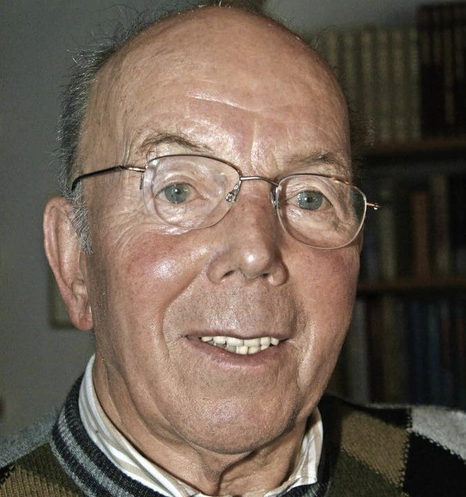 Klemens Hirt (beim 80. Geburtstag).   | Foto: Eva Korinth