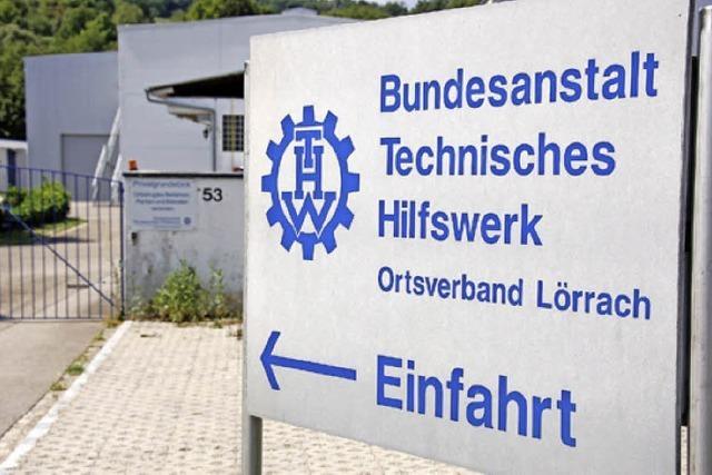 THW in Lörrach hat 2015 13000 Stunden ehrenamtliche Arbeit geleistet