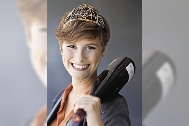 Josefine Schlumberger amtiert seit Oktober als Deutsche Weinkönigin