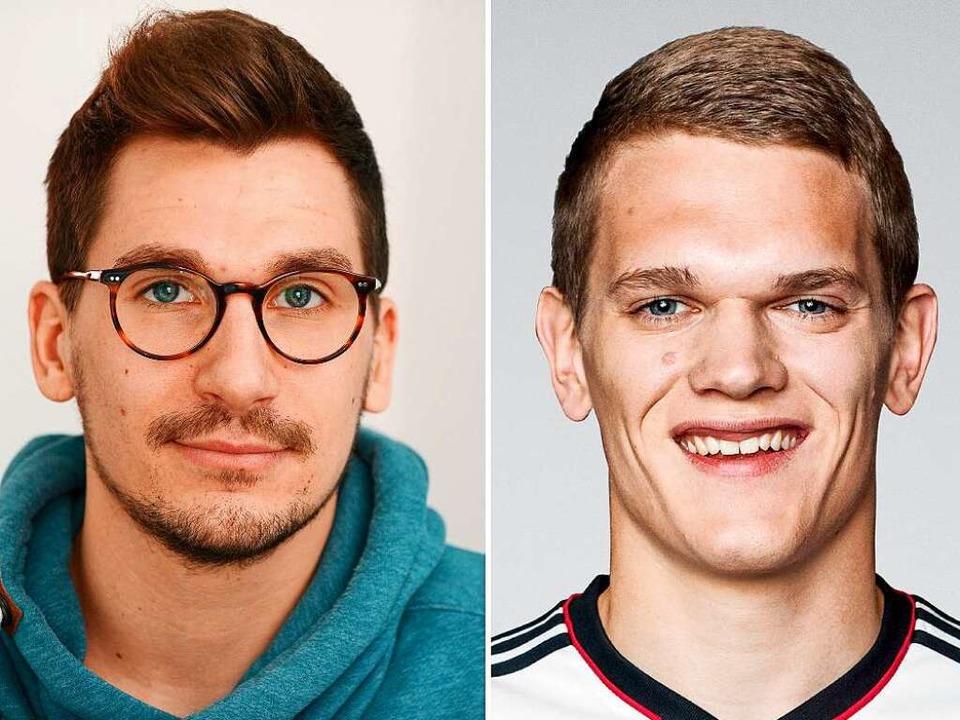 Sascha Eichner lichtete Profifußballer Matthias Ginter für eine Modekampagne ab.  | Foto: bz / dpa
