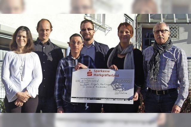 1000 Euro für Haus Engels in Hertingen