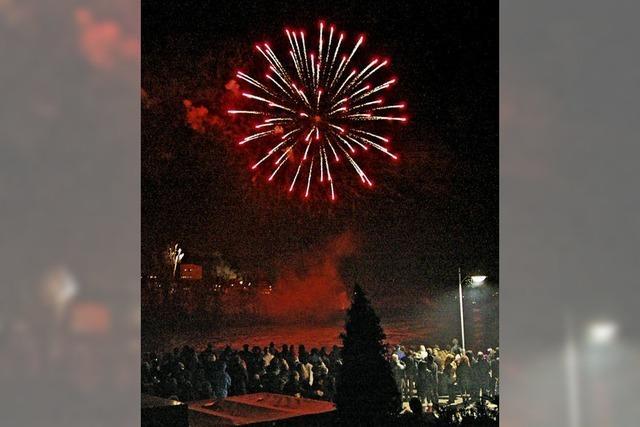Feuerwerk hat keine lange Tradition