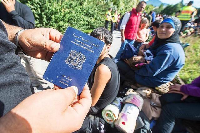 CSU will schärferen Kurs in der Flüchtlingspolitik