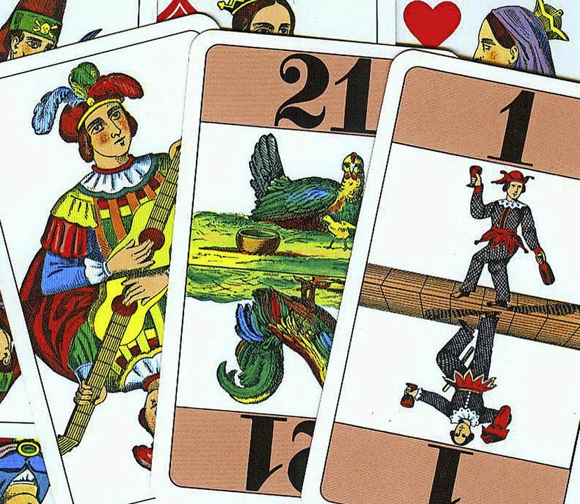 Wer kennt die Karten<ppp> </ppp>Cego &...ls kleinster der &quot;Bäbberle&quot;.  | Foto: Jürgen Schneider