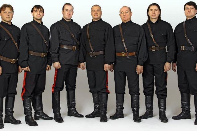 Maxim Kowalew Don Kosaken singen russisch-orthodoxe Kirchengesänge