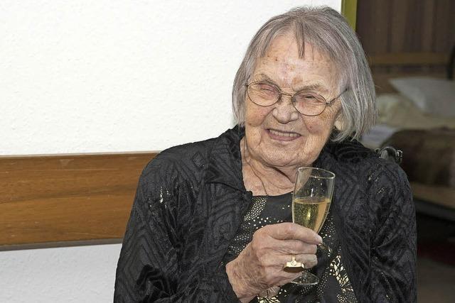 Viele Glückwünsche zum 100. Geburtstag